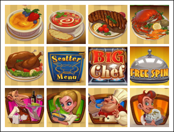 free Big Chef slot game symbols