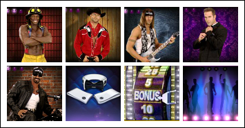free Chippendales slot game symbols