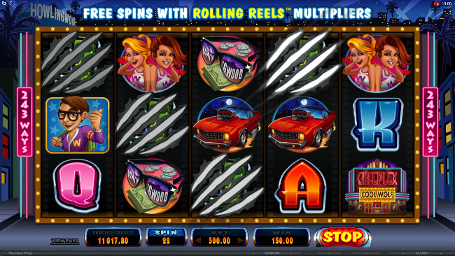 free Cool Wolf slot bonus feature
