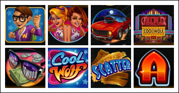 free Cool Wolf slot game symbols