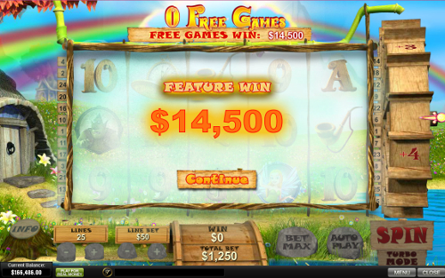 free Fortune Hill free spins win