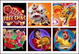 free Dragon Dance slot game symbols