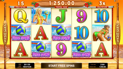 free Bikini Party free spins feature