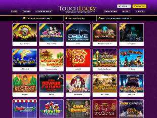 Touch Lucky Casino Lobby