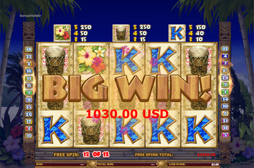 free Hawaiian Treasure free games big win