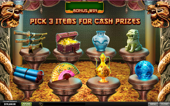 free The Great Ming Empire slot bonus feature