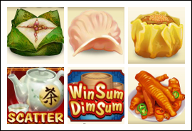 free Win Sum Dim Sum slot game symbols