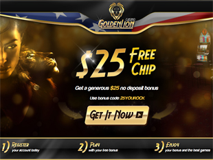 Golden Lion Casino Home