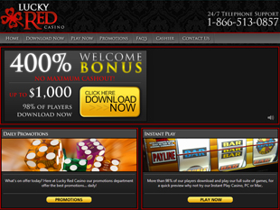 Lucky Red Casino Home