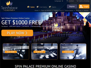 Claim Your Casino Bonus Before Playing at Spin Palace